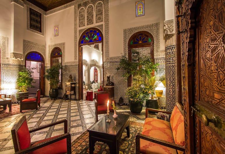 Dar Al Andalous - Riad, Fes, Lounge do saguão
