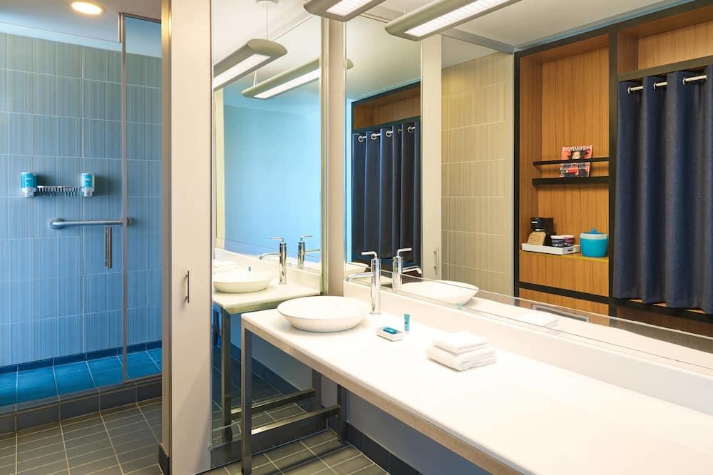 aloft, Room, 1 Katil Raja (King), Non Smoking - Bilik mandi