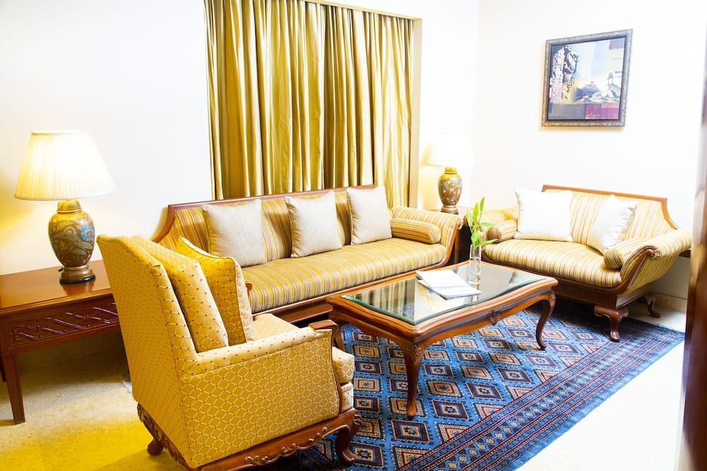 Apartmá typu Executive, 1 ložnice - Obývací pokoj