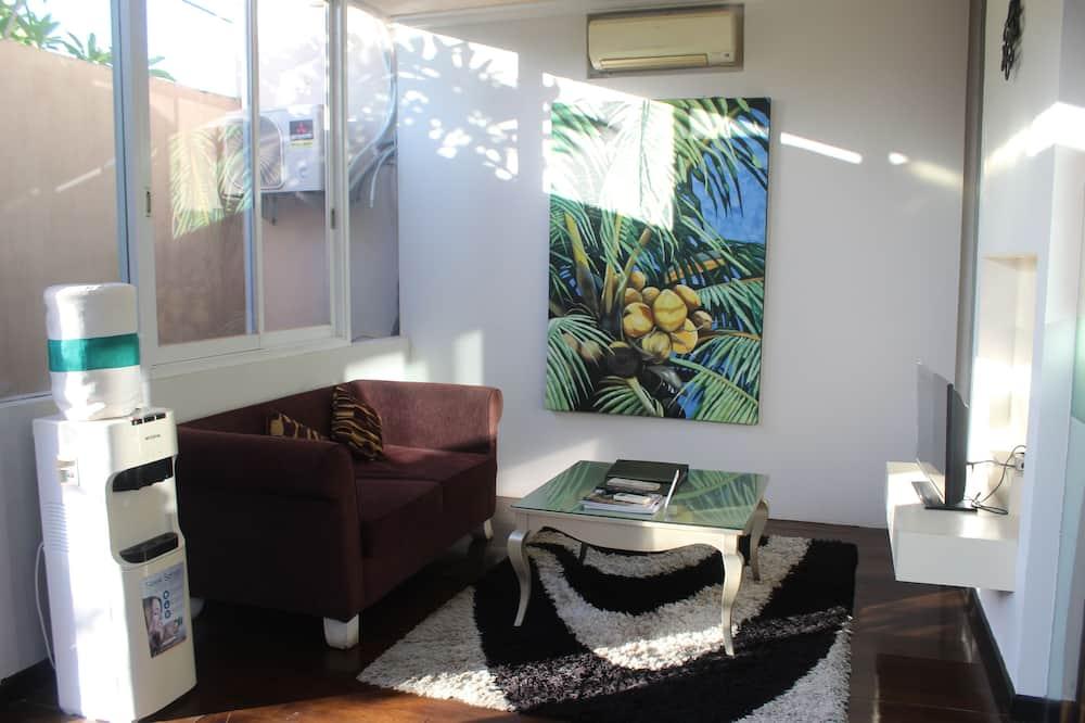 Vila, 1 spálňa - Obývacie priestory