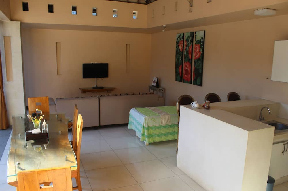 Vila, 2 spálne - Obývacie priestory