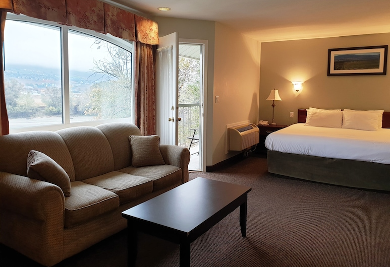 Riverland Inn & Suites, Kamloops, Suite, Jetted Tub, Bilik Tamu