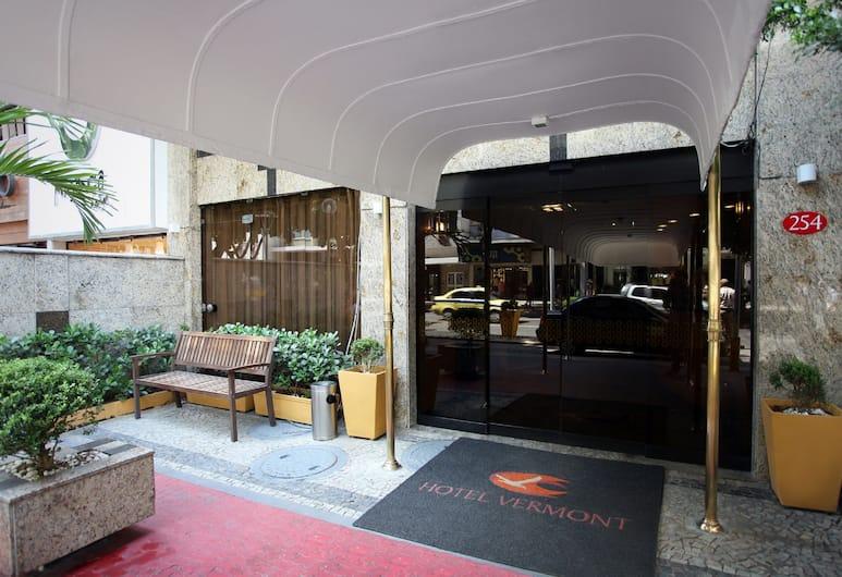 Hotel Vermont Ipanema, Rio de Janeiro, Hotellinngang