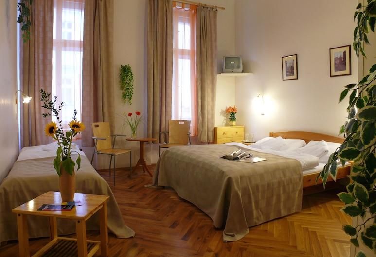 Pension Prague City, Praga, Pokój dla 3 osób, Pokój