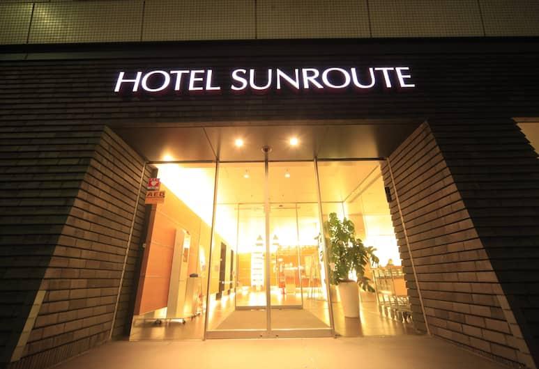 Hotel Sunroute Higashi Shinjuku, Tokió, Hotel bejárata