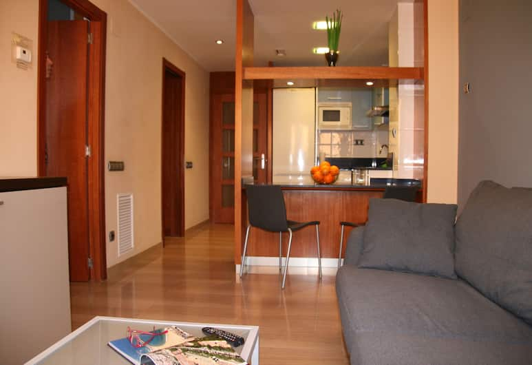Apartaments Suites Independencia, Barcelona, Apartment, 1 Bedroom (1 pax), Living Room