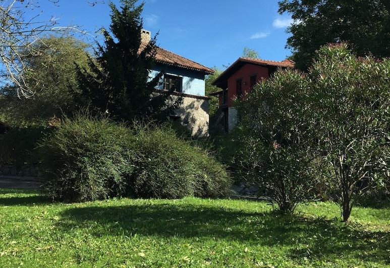 L'Alceu - Hotel Rural y Apartamentos, Ribadesella, Jardín