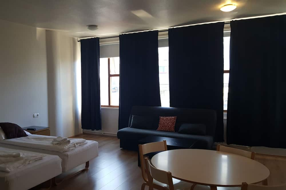 Studio (Two Adults) - Living Area
