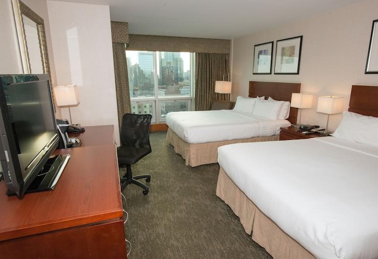Holiday Inn - Long Island City - Manhattan View, לונג איילנד סיטי, חדר, 2 מיטות קווין, ללא עישון, חדר אורחים
