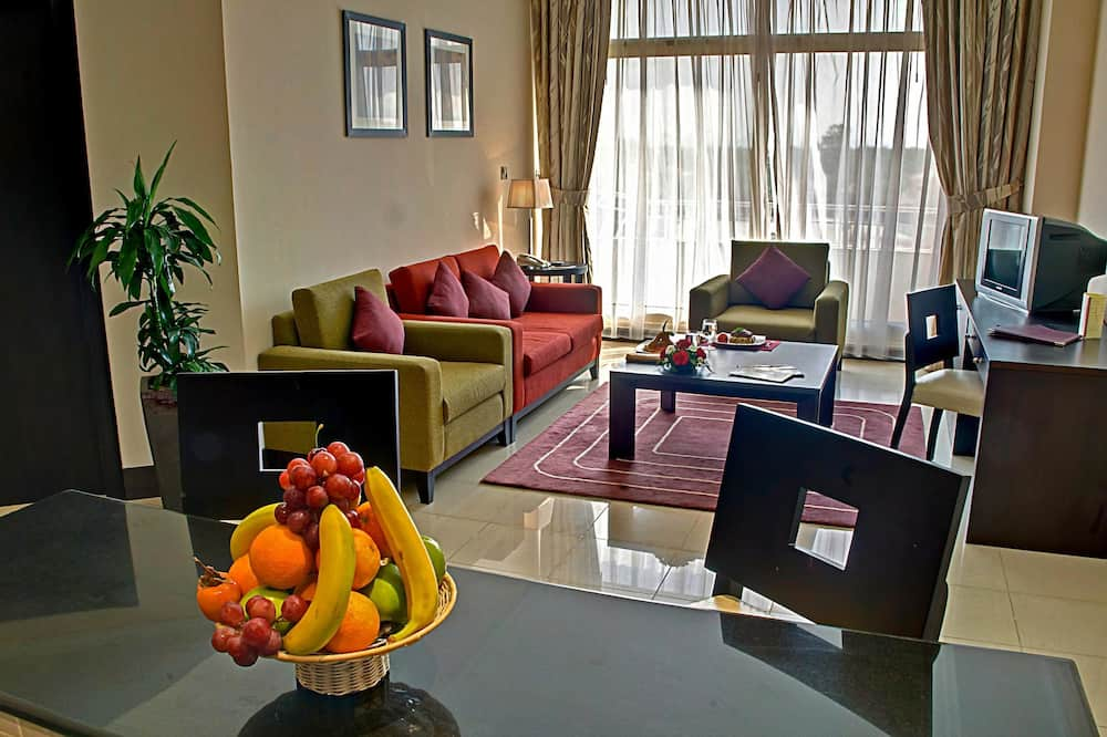 Family Suite with View - Living Room