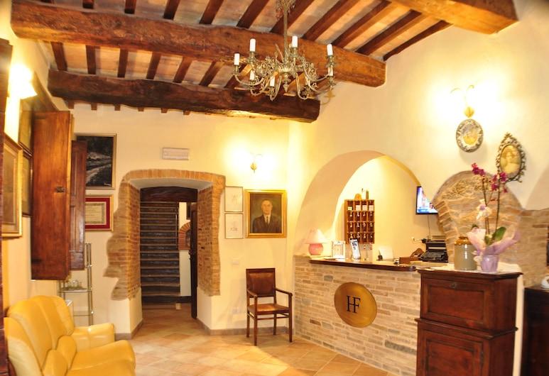 Hotel Fioriti, Matelica, Reception