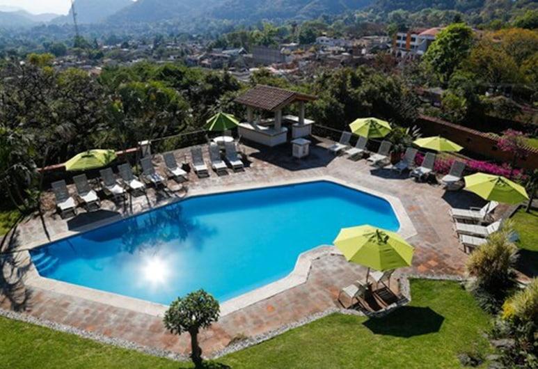 Hotel Posada Del Tepozteco, Тепоцлан, Открытый бассейн