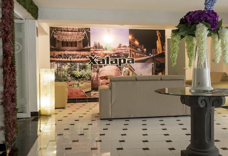 Hotel Atenas, Xalapa, Lobby