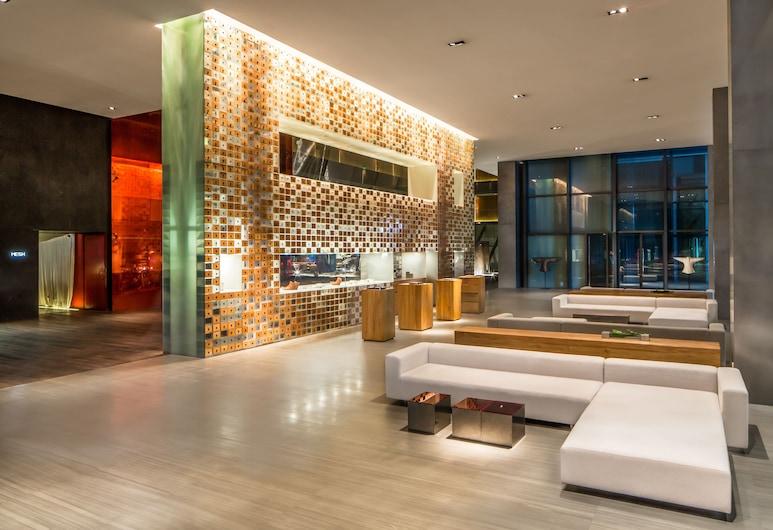 The Opposite House, Beijing, Lobby