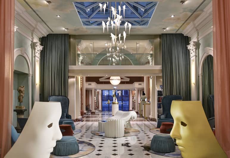 Leon's Place Hotel, Rome, Lobby Lounge