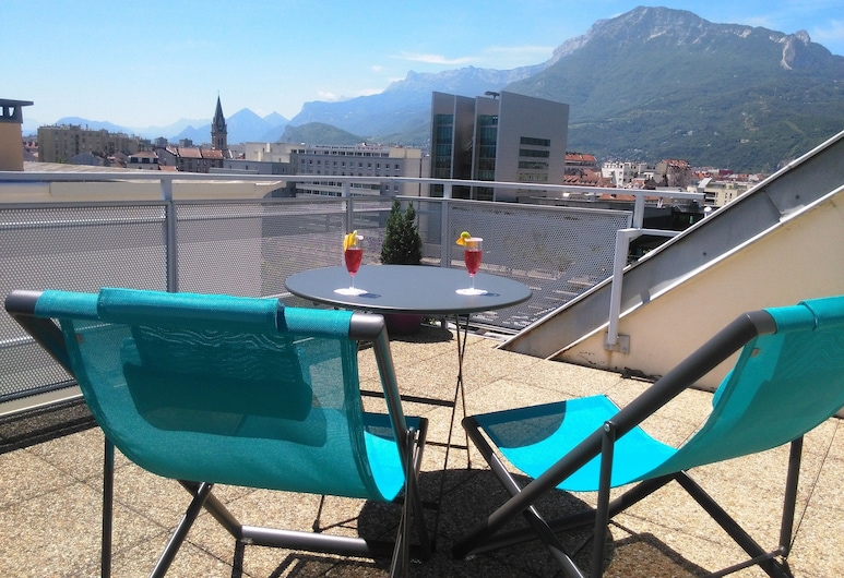Residhotel Central Gare, Grenoble, Terassi/patio