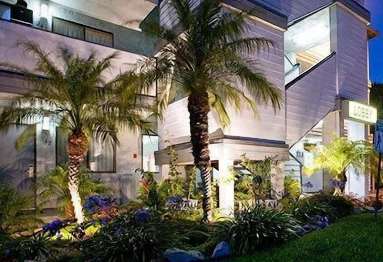 Heritage Inn San Diego Near SeaWorld, San Diego, Voorkant hotel - avond/nacht