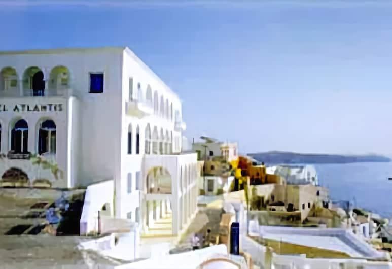 Ξενοδοχείο Ατλαντίς, Σαντορίνη, Εξωτερικός χώρος