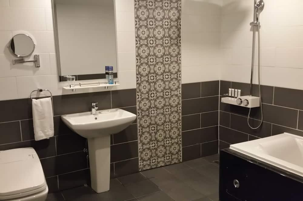 Liukso klasės dvivietis kambarys - Vonios kambarys