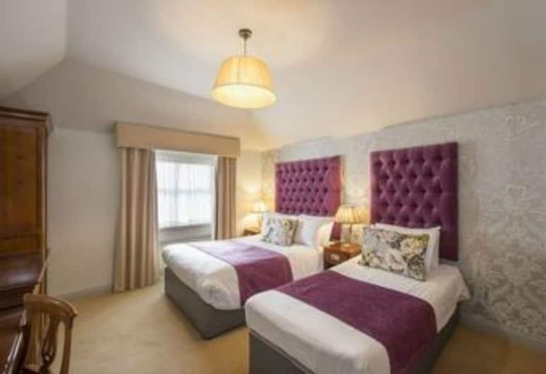 Barry's Hotel, Dublin, Twin kamer, 2 eenpersoonsbedden, Kamer