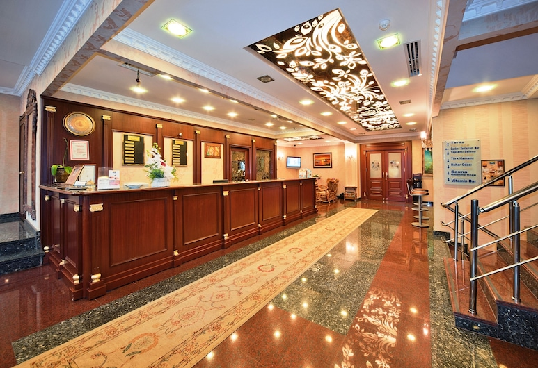 The Byzantium Hotel & Suites - Special Class, Istanbul, Resepsjon