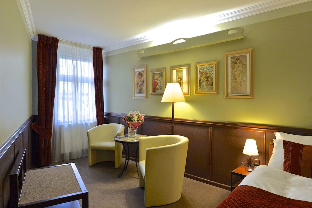 Classic-Einzelzimmer - Wohnbereich