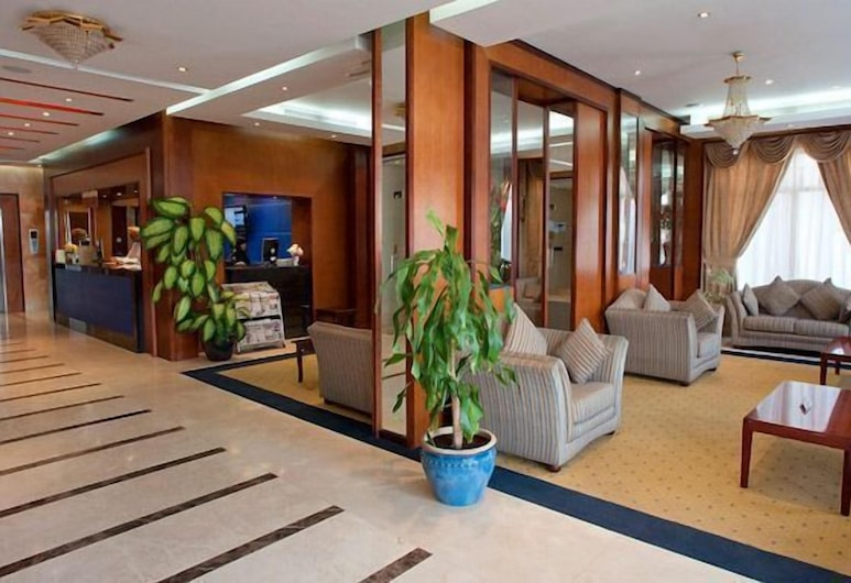 Safeer Continental Hotel, Muscat, Lobby Sitting Area