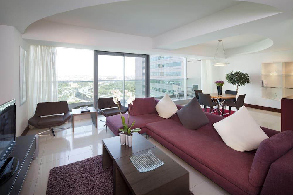 Three Bedroom Duplex Gallery Residence - Dzīvojamā zona