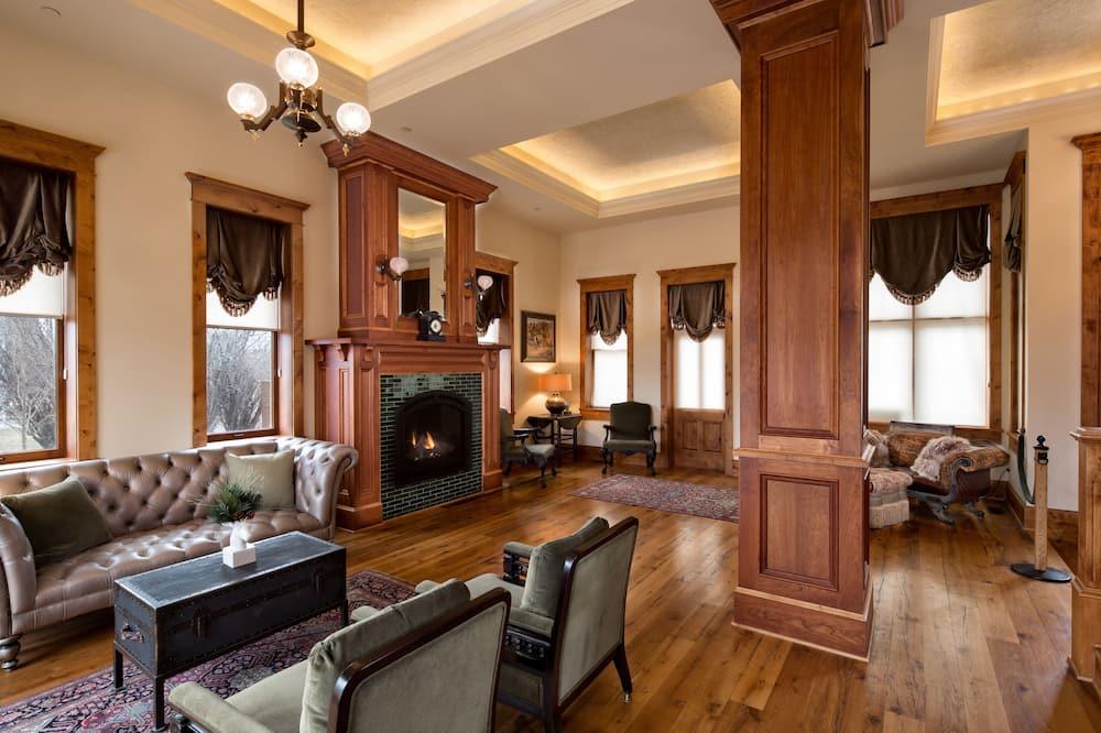 Villa Grand, 5 habitaciones, con acceso para silla de ruedas, terraza - Sala de estar