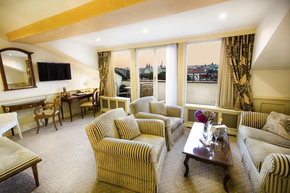 جناح رئاسي - غرفة معيشة