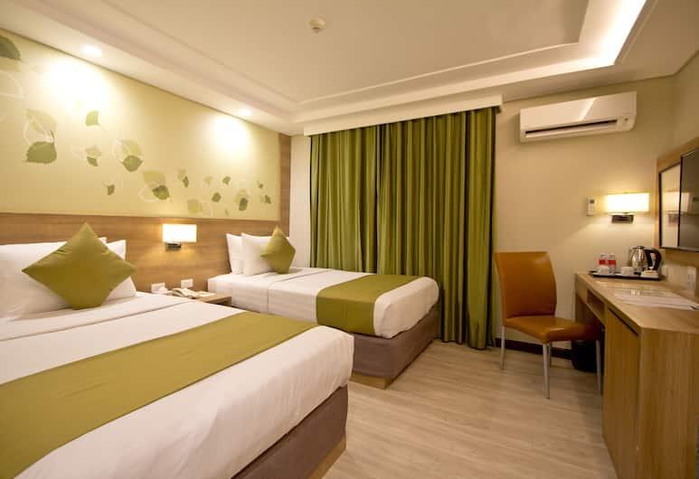 Makati Crown Regency Hotel, Makati, Kamar Superior, Kamar Tamu
