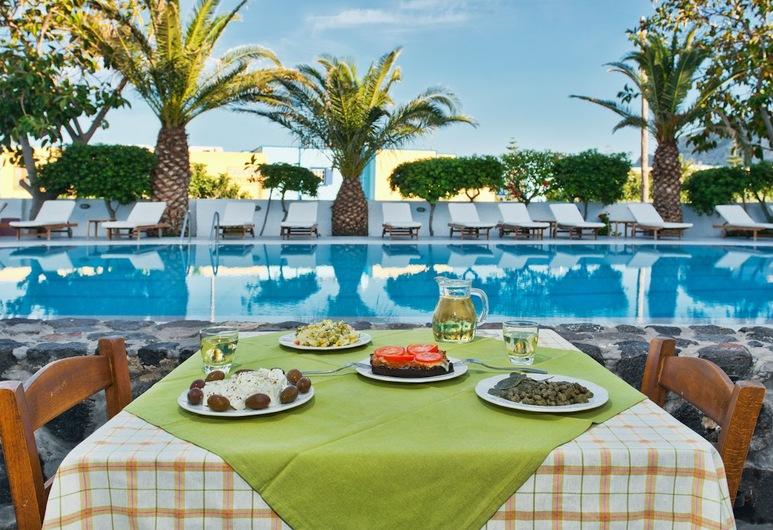 Hotel Makarios, Santorini, Outdoor Dining