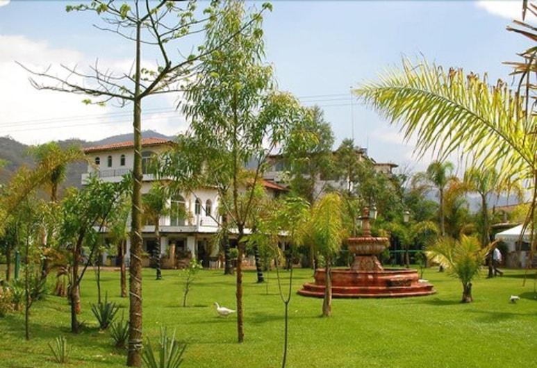 Hotel Hacienda La Puerta de Enmedio, Mascota, Garten