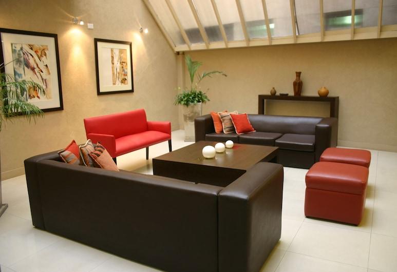 Cordon del Plata, Mendoza, Sala de estar en el lobby