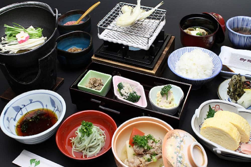 Chambre Tradition, non-fumeurs (Breakfast included) - Dîner au ryokan