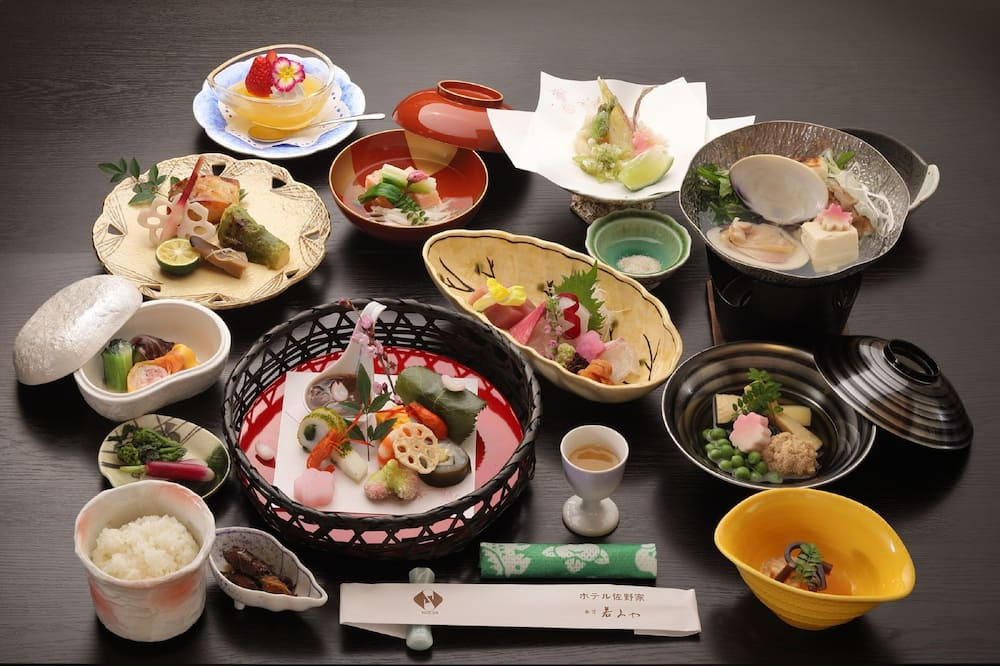 Chambre Tradition, non-fumeurs (Half board/Check-in by 19:00) - Dîner au ryokan