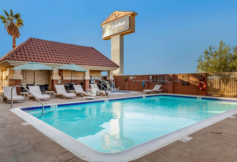 Comfort Suites Barstow near I-15, Barstow, Alberca