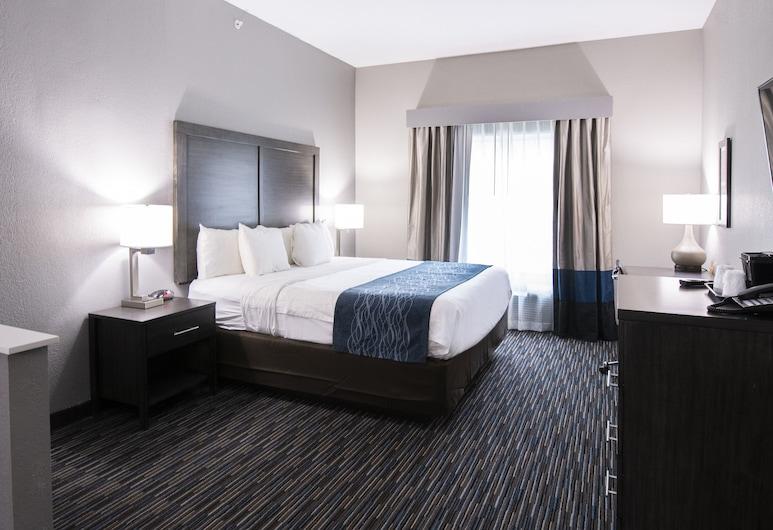 Comfort Inn and Suites Near Medical Center , San Antonio, Standardrum - 1 kingsize-säng, Gästrum