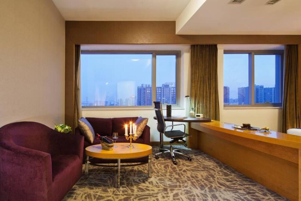 Quarto Standard, 1 cama queen-size (Extra Floor Space) - Sala de Estar