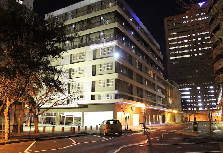 Circa On The Square Hotel, Cape Town, Hotel Front – Evening/Night