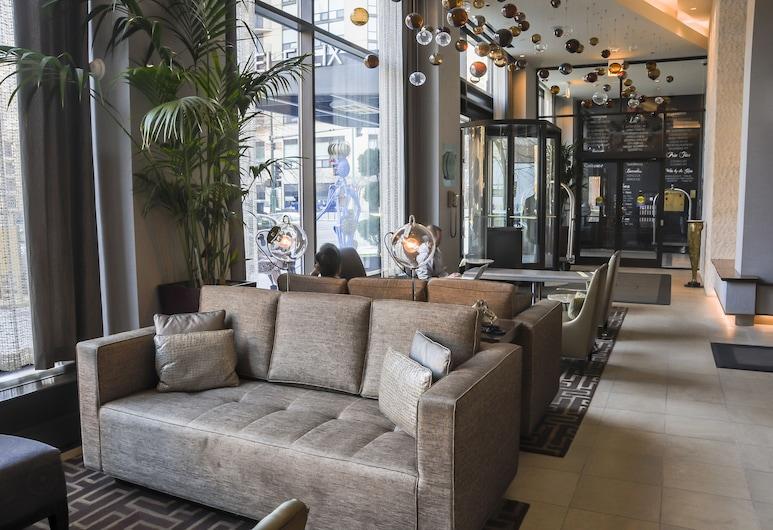 Hotel Felix Chicago, Chicago, Salottino della hall