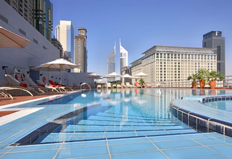 Rose Rayhaan by Rotana, Dubai, Outdoor Pool