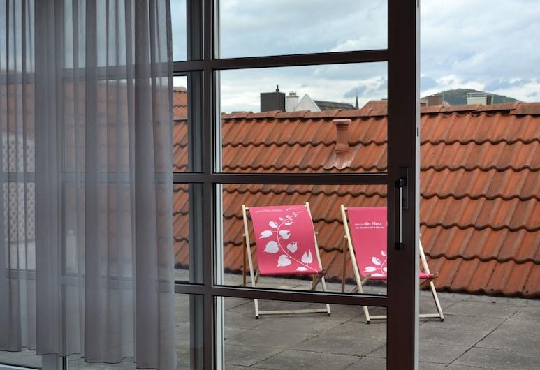 Altstadthotel Arte, Fulda, Family Room, Teres/Laman Dalam