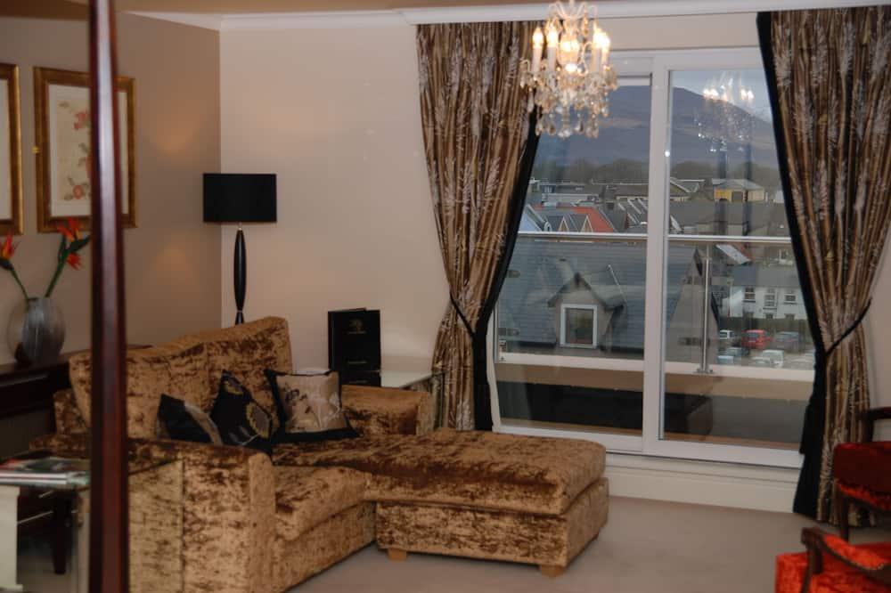 Ateliérové apartmá - Obývací prostor