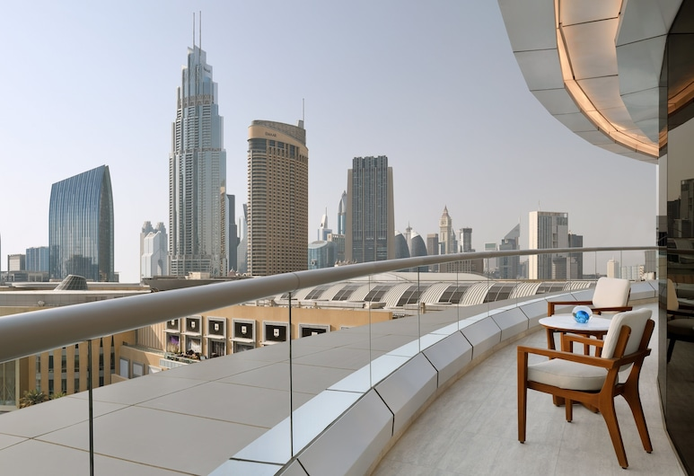 Address Downtown, Dubai, Executive Suite Fountain View, Guest Room