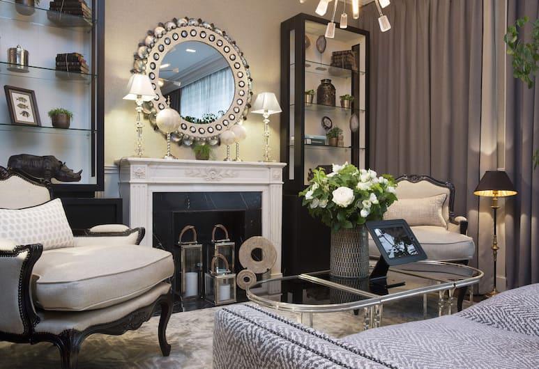Hotel Monge, Paris, Lobby-Lounge