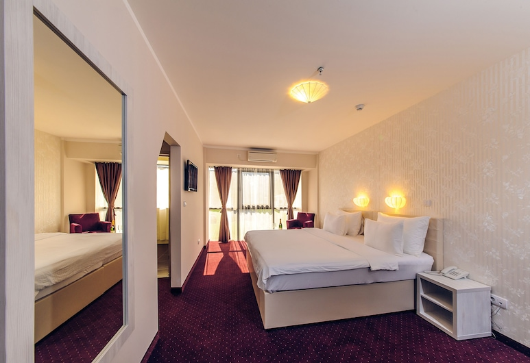 Hotel Philia, Podgorica, Deluxe Double or Twin Room, River View, Guest Room
