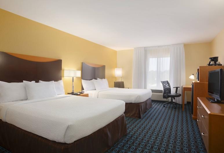 Fairfield Inn and Suites by Marriott Columbia, Kolumbija, Standarta numurs, 2 divguļamās karalienes gultas, Viesu numurs