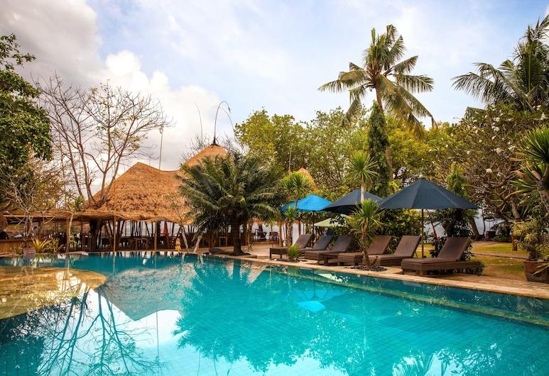 Hai Tide Beach Resort, Lembongan Island, Lauko baseinas