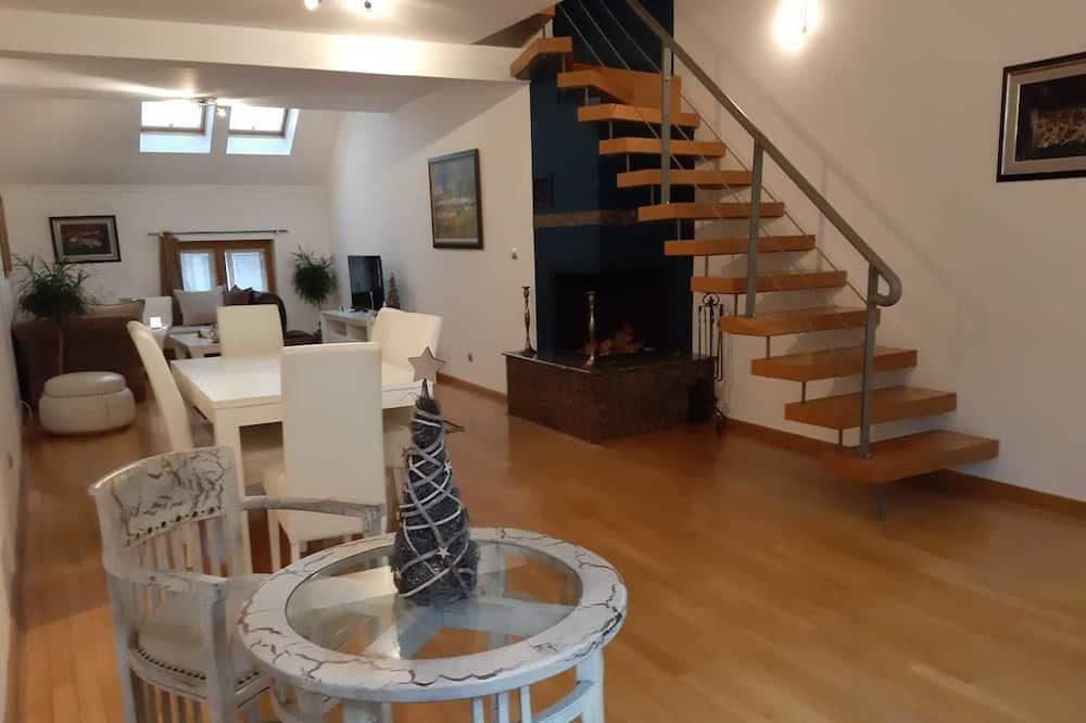 Apartament luksusowy, 2 sypialnie (1 to 4 Guests) - Powierzchnia mieszkalna